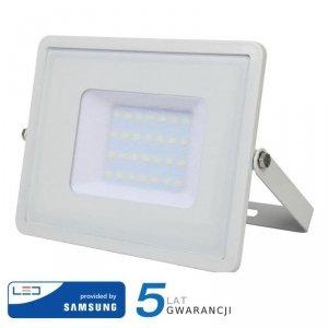 Projektor LED V-TAC 30W SAMSUNG CHIP Biały VT-30 3000K 2400lm 5 Lat Gwarancji