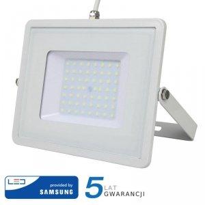 Projektor LED V-TAC 50W SAMSUNG CHIP Biały VT-50 3000K 4000lm 5 Lat Gwarancji
