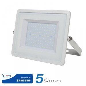 Projektor LED V-TAC 100W SAMSUNG CHIP Biały VT-100 4000K 8000lm 5 Lat Gwarancji