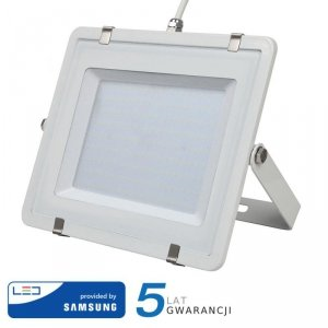 Projektor LED V-TAC 200W SAMSUNG CHIP Biały VT-200 4000K 16000lm 5 Lat Gwarancji