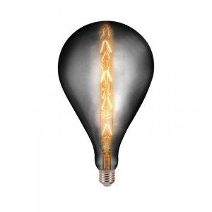 Żarówka LED V-TAC 8W E27 G165 Filament Szara Dymiona Ściemnialna VT-2159 2200K 240lm