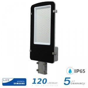 Oprawa Uliczna LED V-TAC SAMSUNG CHIP A++ 100W Szara VT-100ST 4000K 12000lm 5 Lat Gwarancji