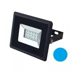 Projektor LED V-TAC 10W Czarny E-Series IP65 VT-4011 Niebieski 850lm