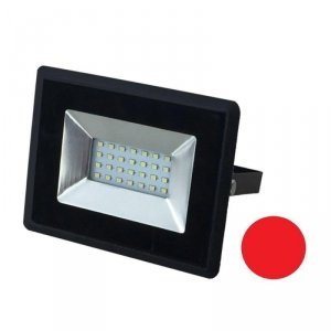 Projektor LED V-TAC 20W Czarny E-Series IP65 VT-4021 Czerwony 1700lm