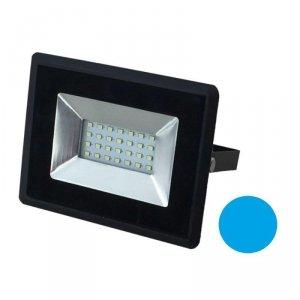 Projektor LED V-TAC 20W Czarny E-Series IP65 VT-4021 Niebieski 1700lm
