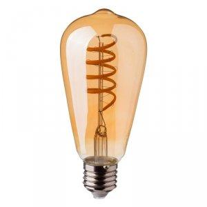 Żarówka LED V-TAC 4W E27 Filament Bursztyn ST64 VT-2144 2200K 320lm