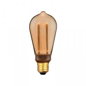 Żarówka LED V-TAC 4W EDISON RETRO E27 ST64 Bursztyn VT-2185 1800K 200lm