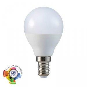 Żarówka LED V-TAC 5.5W E14 P45 Kulka CRI95+ VT-2236 2700K 470lm
