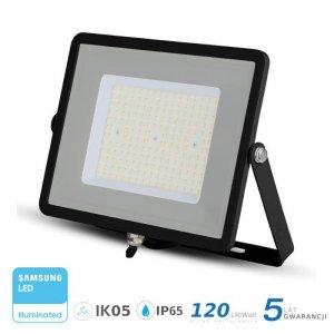 Projektor LED V-TAC 100W SAMSUNG CHIP SLIM Czarny 120lm/W VT-106 6400K 12000lm 5 Lat Gwarancji