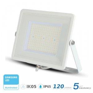 Projektor LED V-TAC 100W SAMSUNG CHIP SLIM Biały 120lm/W VT-106 6400K 12000lm 5 Lat Gwarancji