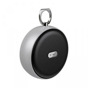 Przenośny Głośnik Bluetooth Micro USB Wysokiej jakości przewód 800mah Zielony V-TAC VT-6211