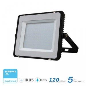 Projektor LED V-TAC 200W SAMSUNG CHIP SLIM Czarny 120lm/W VT-206 6400K 24000lm 5 Lat Gwarancji