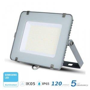 Projektor LED V-TAC 200W SAMSUNG CHIP SLIM Szary 120lm/W VT-206 6400K 24000lm 5 Lat Gwarancji