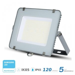 Projektor LED V-TAC 300W SAMSUNG CHIP SLIM Szary 120lm/W VT-306 4000K 36000lm 5 Lat Gwarancji