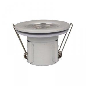 Oczko LED SAMSUNG CHIP 5W Hermetyczne IP65 Ściemnialne Białe VT-885 3000K 500lm 5 Lat Gwarancji