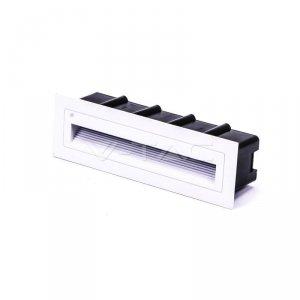 Oprawa Schodowa 6W LED V-TAC Wpuszczana Biały Prostokąt 230V VT-856 4000K 240lm