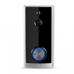 Dzwonek SMART Video Czarny 720P 75x40x143mm V-TAC VT-5412