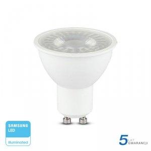 Żarówka LED V-TAC SAMSUNG CHIP GU10 8W 38st VT-291 3000K 720lm 5 Lat Gwarancji