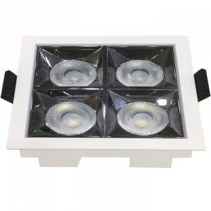 Oprawa V-TAC Downlight SAMSUNG CHIP 16W UGR19 CRI90+ 12st VT-2-16 2700K 1280lm 5 Lat Gwarancji