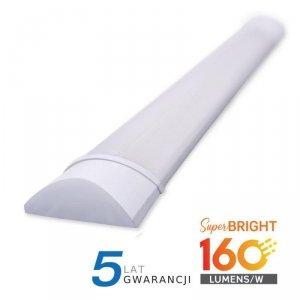 Oprawa V-TAC 15W LED Liniowa Natynkowa 60CM 160lm/W VT-8315 3000K 2400lm 5 Lat Gwarancji