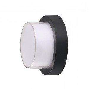 Oprawa V-TAC 7W LED Czarna Okrągła IP65 VT-831 3000K 550lm