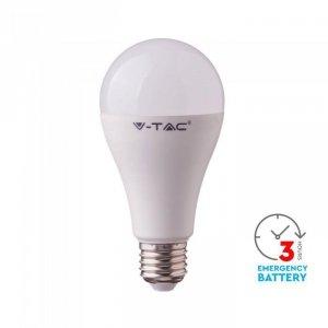 Żarówka Awaryjna LED V-TAC SAMSUNG CHIP 3h 9W E27 VT-2309 3000K 806lm
