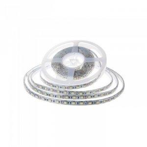 Taśma LED V-TAC SMD2835 1200LED 24V IP65 2xPCB RĘKAW 10mb 7,2W/m 120LED/m VT-2835 3000K 600lm