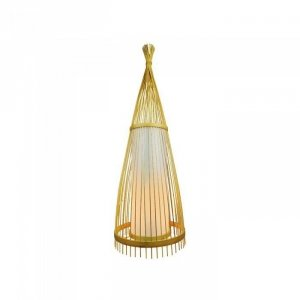 Drewniana Lampa Podłogowa V-TAC Rattan E27 150cm VT-4150 5 Lat Gwarancji