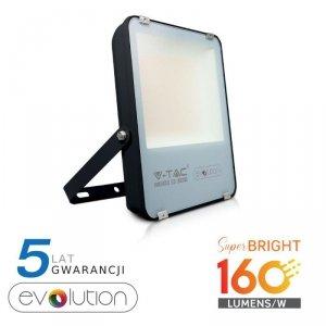 Projektor LED V-TAC 100W Czarny EVOLUTION 160lm/W VT-49161 6400K 16000lm 5 Lat Gwarancji