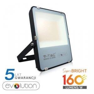 Projektor LED V-TAC 200W Czarny EVOLUTION 160lm/W VT-49261 4000K 32000lm 5 Lat Gwarancji