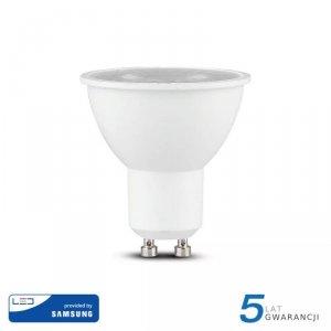 Żarówka LED V-TAC SAMSUNG CHIP 5W GU10 38st (Opak. 12szt) VT-275 3000K 380lm 5 Lat Gwarancji