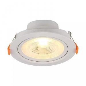 Oprawa V-TAC Downlight 7W LED Okrągły Biały VT-8407 3000K 560lm