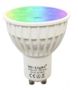 Żarówka LED GU10 RGBCCT 4W WiFi Milight FUT103