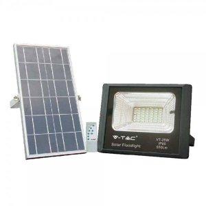 Projektor LED Solarny 25W 6000K IP65 550lm