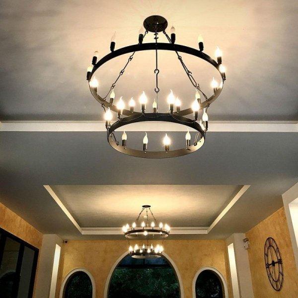Żarówka LED V-TAC SAMSUNG CHIP 5.5W E14 Świeczka Płomyk VT-258 6400K 470lm 5 Lat Gwarancji