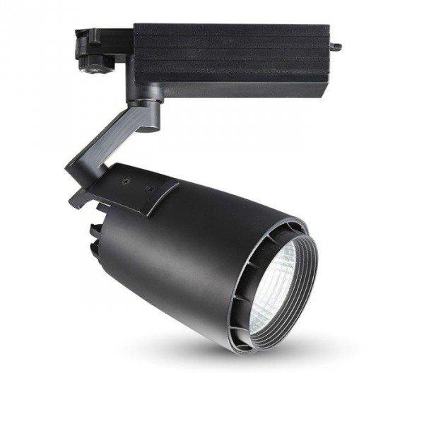 Oprawa Track Light LED V-TAC 33W LED Czarny VT-4534 4000K 2300lm