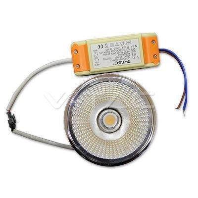 Żarówka LED V-TAC AR111 20W 230V 40st COB z zasilaczem 1800lm VT-1120 4000K 1500lm