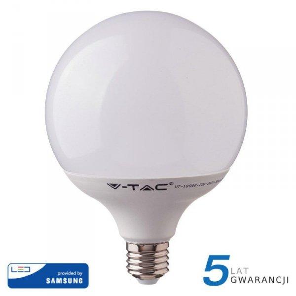 Żarówka LED V-TAC SAMSUNG CHIP 18W E27 GLOBE G120 VT-288 6400K 2000lm 5 Lat Gwarancji