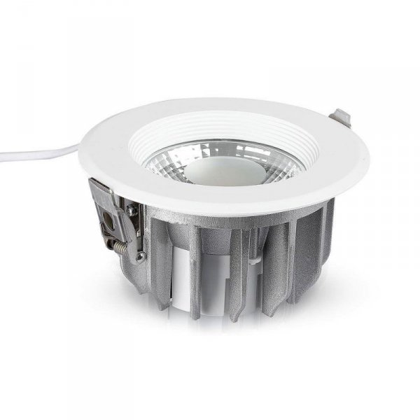 Oprawa 20W LED V-TAC COB Downlight Okrągły A++ 120lm/W VT-26201 4000K 2400lm
