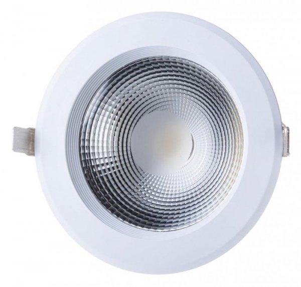 Oprawa 30W LED V-TAC COB Downlight Okrągły A++ 120lm/W VT-26301 4000K 3600lm