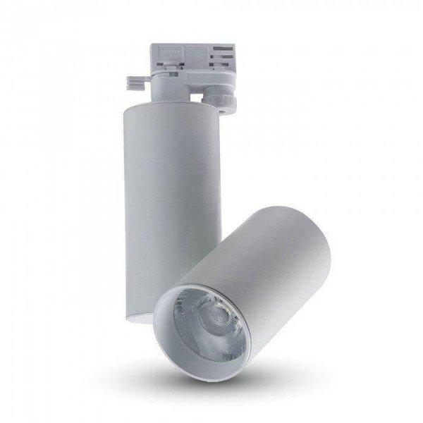 Oprawa Track Light LED V-TAC 15W 24st Biały VT-4615 3000K 1350lm 5 Lat Gwarancji
