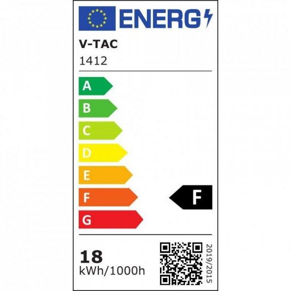 Oprawa Track Light LED V-TAC 35W COB Biały VT-4745 2700K-6400K 1450lm 5 Lat Gwarancji