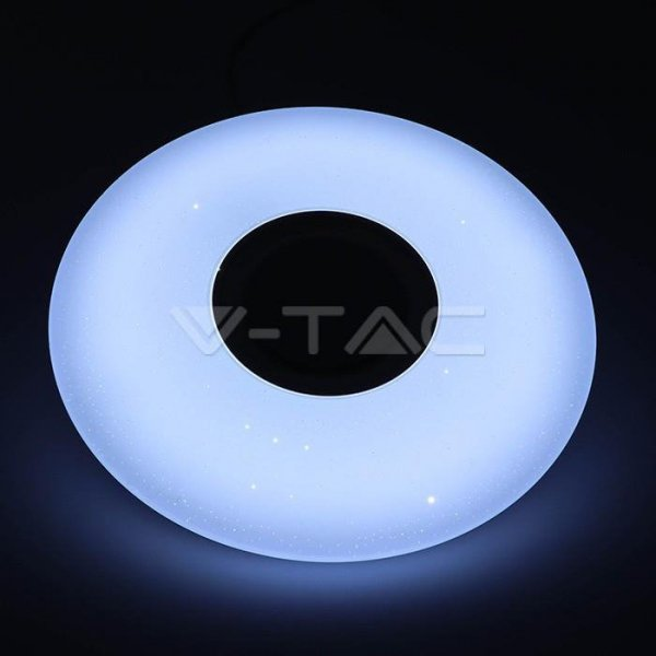Plafon V-TAC Sufitowy V-TAC 36W SMART Głośnik Gwiazdy Bluetooth RGB+CCT 3400lm VT-5500 2100lm