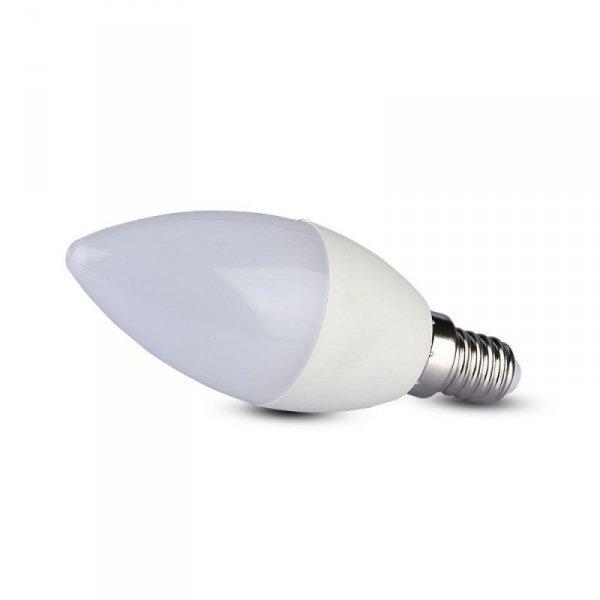 Żarówka LED V-TAC SAMSUNG CHIP 5.5W E14 Świeczka VT-226 3000K 470lm 5 Lat Gwarancji