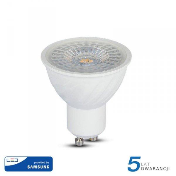 Żarówka LED V-TAC SAMSUNG CHIP 6.5W GU10 110st VT-247 4000K 480lm 5 Lat Gwarancji