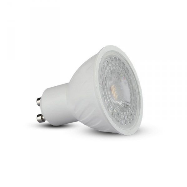 Żarówka LED V-TAC SAMSUNG CHIP 6.5W GU10 38st Ściemnialna VT-227 3000K 450lm 5 Lat Gwarancji