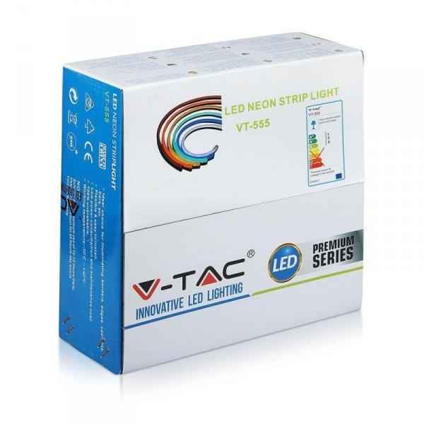 Neon Flex 24V 10mb 8W/m Czerwony V-TAC VT-555 Czerwony 320lm