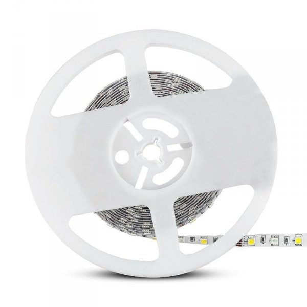 Taśma LED V-TAC SMD5050 300LED RGBW A++ 12V IP20 9W/m VT-5050 4000K+RGB 900lm