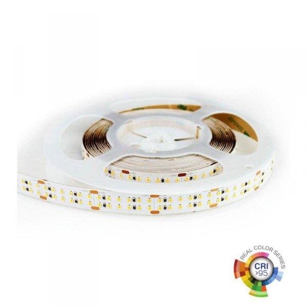Taśma LED Podwójna V-TAC 1800LED 24V IP20 30W/m CRI95+ VT-2216 4000K 2400lm 3 Lata Gwarancji
