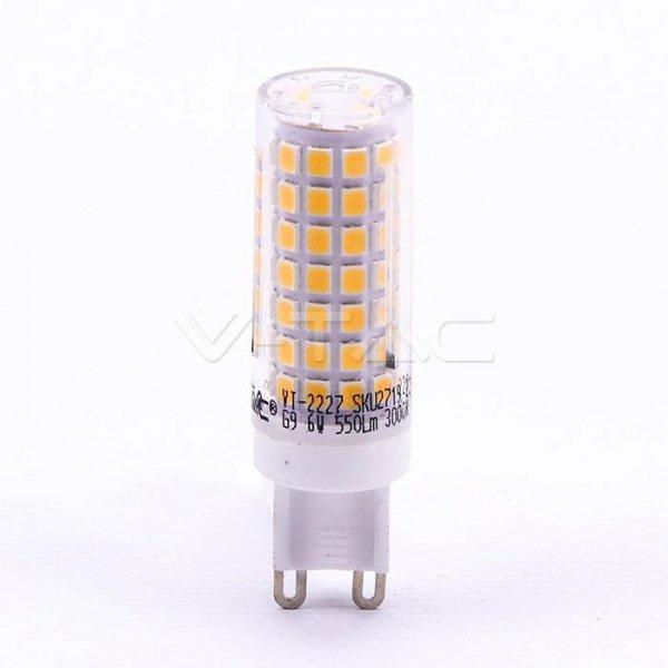 Żarówka LED V-TAC 6W G9 VT-2227 6400K 550lm